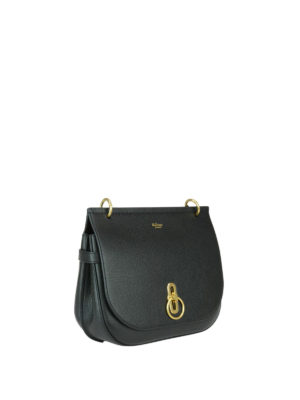 Mulberry: shoulder bags online - Amberley grained leather small bag