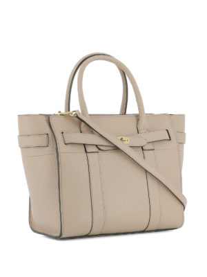 Mulberry: totes bags online - Bayswater grained leather shopper