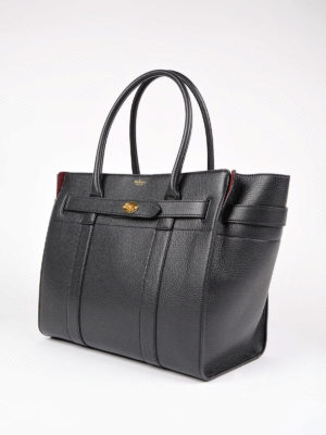 Mulberry: totes bags online - Bayswater zipped leather tote