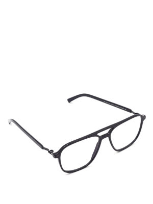 Mykita: glasses - Gylfi mask eyeglasses