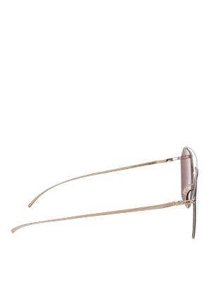 Mykita: sunglasses online - MM Esse 016 geometric sunglasses