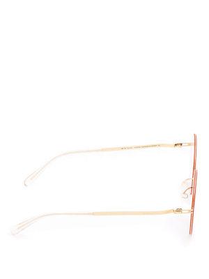 Mykita: sunglasses online - Studio 7.3 oval-shaped sunglasses