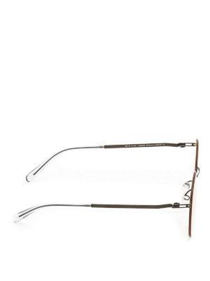 Mykita: sunglasses online - Studio 7.4 black sunglasses