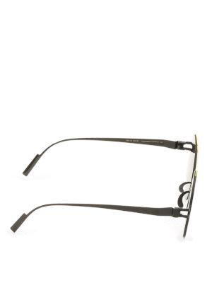 Mykita: sunglasses online - Verbal black sunglasses