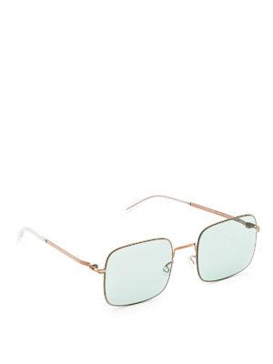 Mykita: sunglasses - Studio 7.1 square-shaped sunglasses