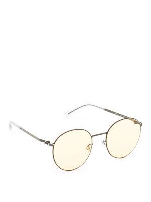 Mykita: sunglasses - Studio 7.4 black sunglasses