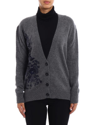 N°21: cardigans online - Floral embroidery wool cardigan