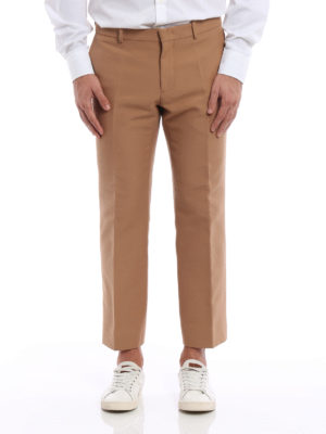N°21: casual trousers online - Cotton cropped trousers