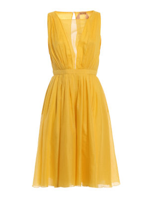 N°21: cocktail dresses - Light cotton pleated dress