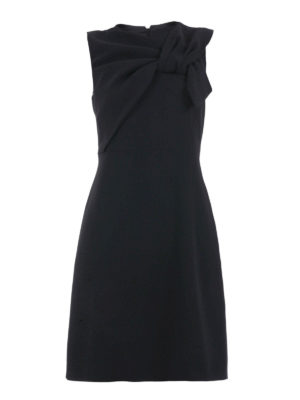 N°21: knee length dresses - Bow detail flared dress