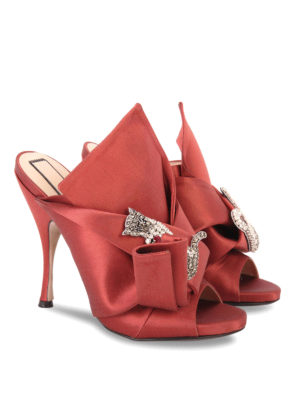 N°21: mules shoes online - RONNY EMBELLISHED OPEN TOE MULES