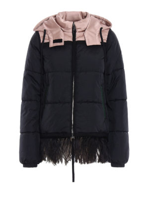 N°21: padded jackets - Padded jacket with feather insert