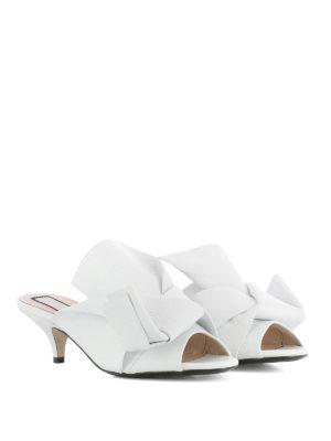 N°21: sandals online - Bow detailed kitten heel sandals