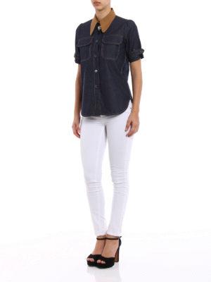 N°21: shirts online - Jewel button chambray shirt