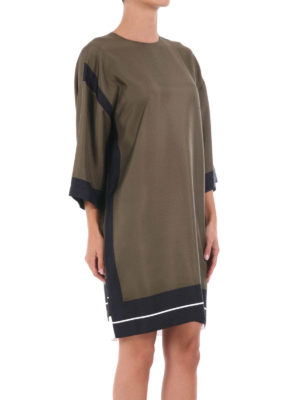 N°21: short dresses online - Silk loose fit dress
