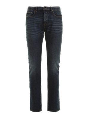 N°21: straight leg jeans - Cotton denim jeans