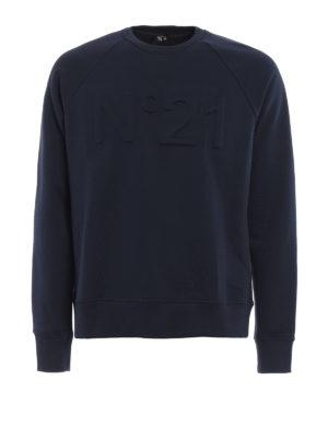 N°21: Sweatshirts & Sweaters - N°21 cotton sweatshirt