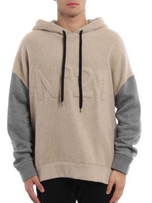 N°21: Sweatshirts & Sweaters online - N°21 wool blend hoodie
