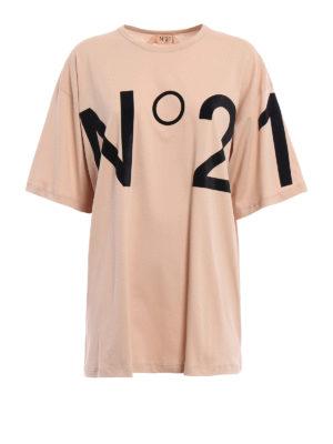 N°21: t-shirts - N°21 detailed T-shirt