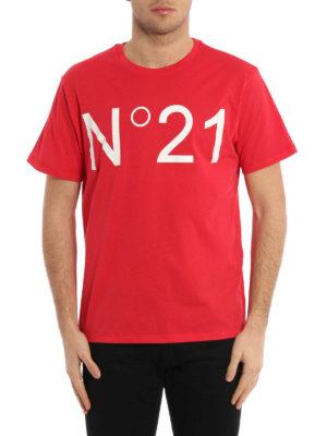 N°21: t-shirts online - Logo print T-shirt