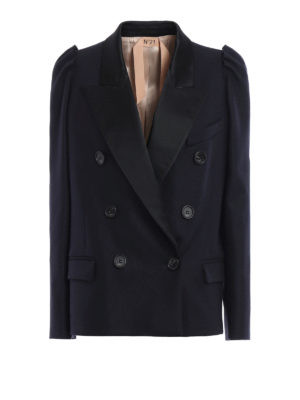 N°21: Tailored & Dinner - Cashmere blend double-breast blazer