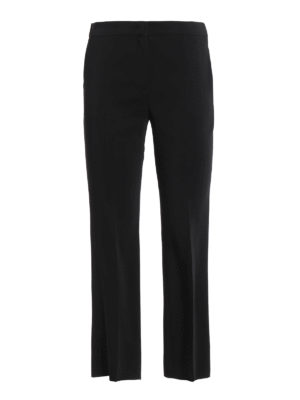 N°21: Tailored & Formal trousers - Crop cady trousers