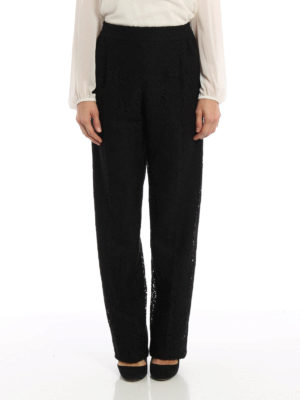 N°21: Tailored & Formal trousers online - Floral lace trousers