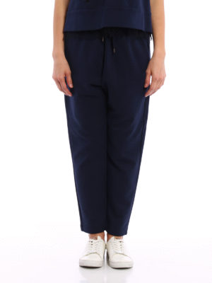N°21: tracksuit bottoms online - Pleated waistband trousers