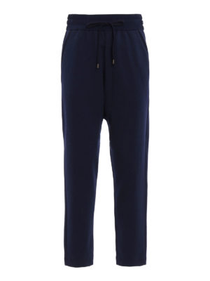N°21: tracksuit bottoms - Pleated waistband trousers