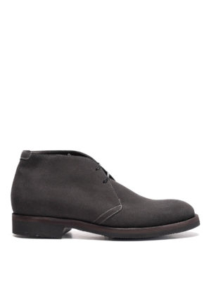 Neil Barrett: ankle boots - Cardif suede ankle boots