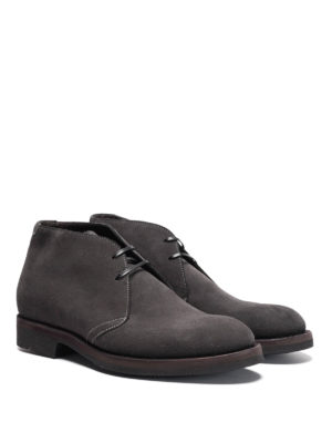 Neil Barrett: ankle boots online - Cardif suede ankle boots