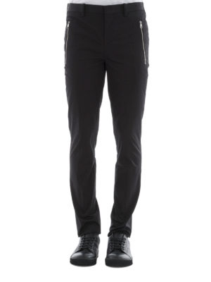 Neil Barrett: casual trousers online - Stretch cotton trousers