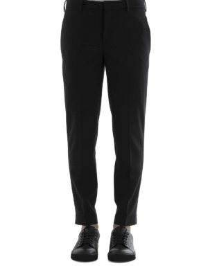 Neil Barrett: casual trousers online - Zipped bottom trousers