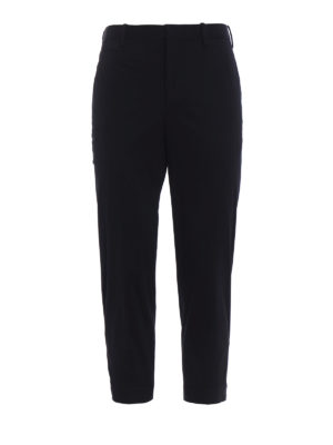 Neil Barrett: casual trousers - Slim chinos with adjustable bottom