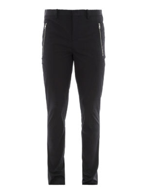 Neil Barrett: casual trousers - Stretch cotton trousers