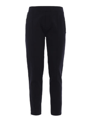 NEIL BARRETT: pantaloni casual - Pantaloni skinny in jersey tecnico