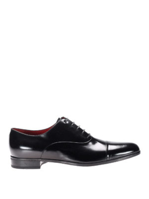 Neil Barrett: classic shoes - Brushed leather classic shoes