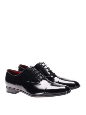 Neil Barrett: classic shoes online - Brushed leather classic shoes