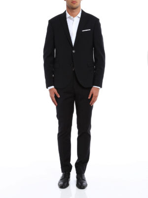 Neil Barrett: formal suits online - Wool blend two-piece suit