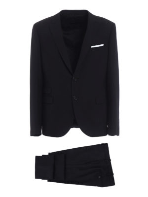 Neil Barrett: formal suits - Wool blend two-piece slim fit suit