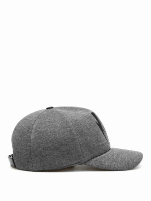 Neil Barrett: hats & caps online - Double bolt baseball hat