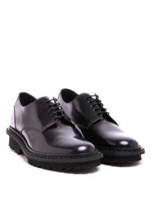 Neil Barrett: lace-ups shoes online - Piercing detail Derby shoes