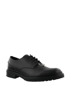 Neil Barrett: lace-ups shoes online - Piercing lace-up Derby shoes