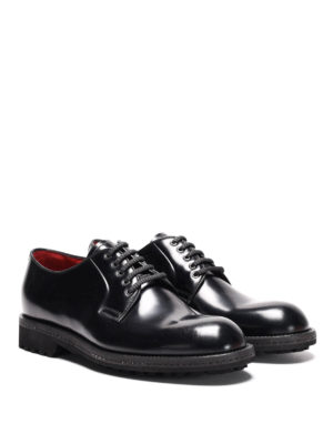 Neil Barrett: lace-ups shoes online - Polished leather derby shoes