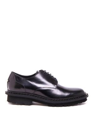 Neil Barrett: lace-ups shoes - Piercing detail Derby shoes