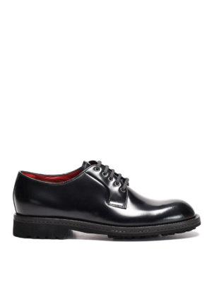 Neil Barrett: lace-ups shoes - Polished leather derby shoes