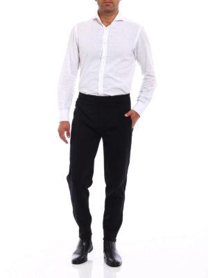 NEIL BARRETT: pantaloni casual online - Pantaloni skinny in jersey tecnico