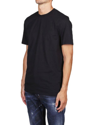 NEIL BARRETT: t-shirt online - T-shirt in cotone con vestibilità regolare