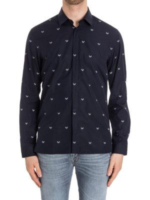 Neil Barrett: shirts online - Printed cotton shirt