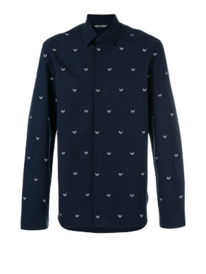 Neil Barrett: shirts - Printed cotton shirt
